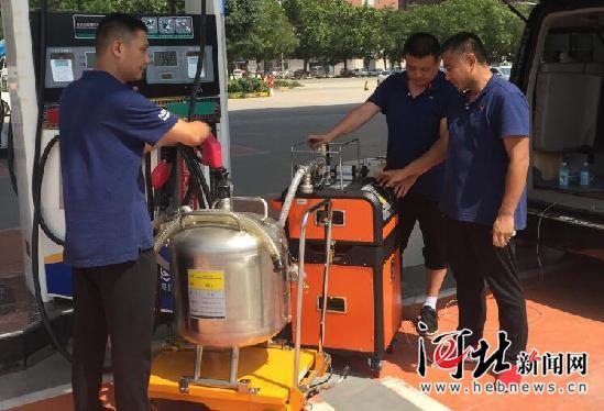44℃高温下的坚守 ——河北省质检研究院开展加油站油气回收检测业务特写