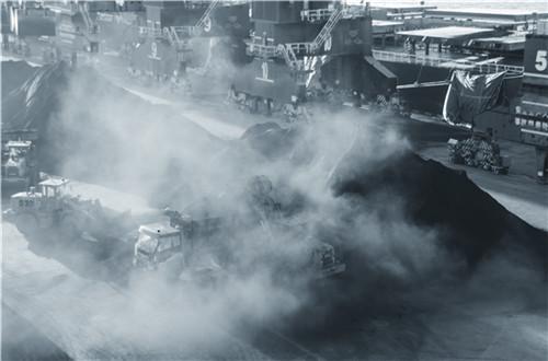 沸腾的港口